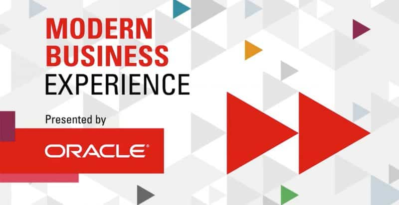 Oracle Modern Business Experience